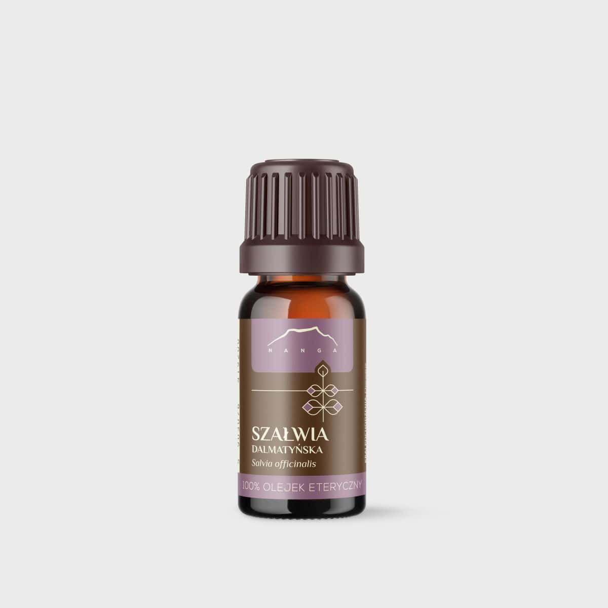 Olejek z szałwii dalmatyńskiej 100% eteryczny Nanga
