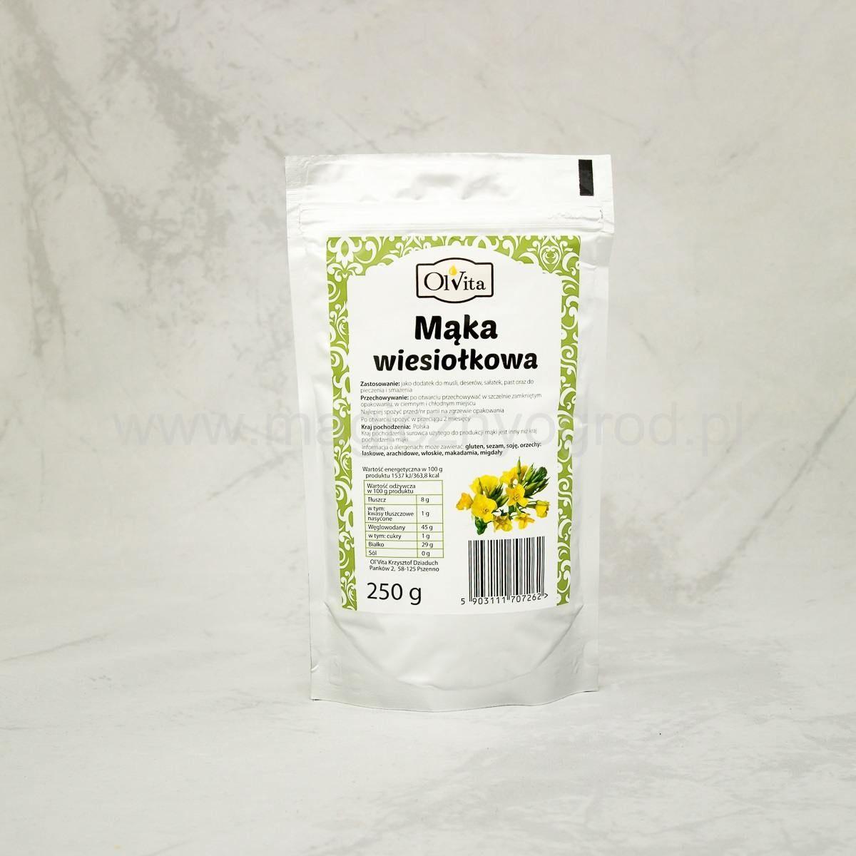 Mąka z wiesiołka Olvita 250g