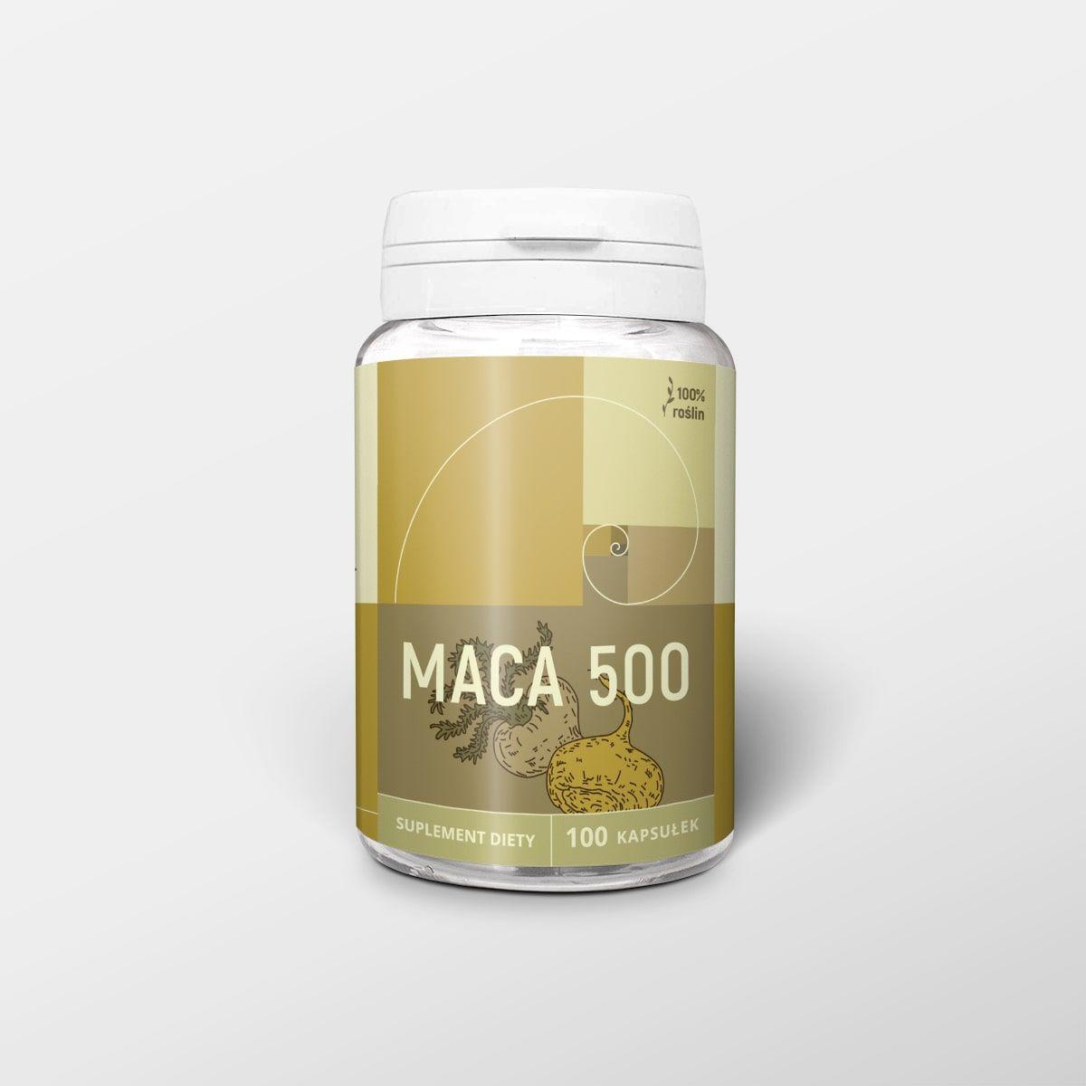 Maca 100 kapsułek x 500 mg