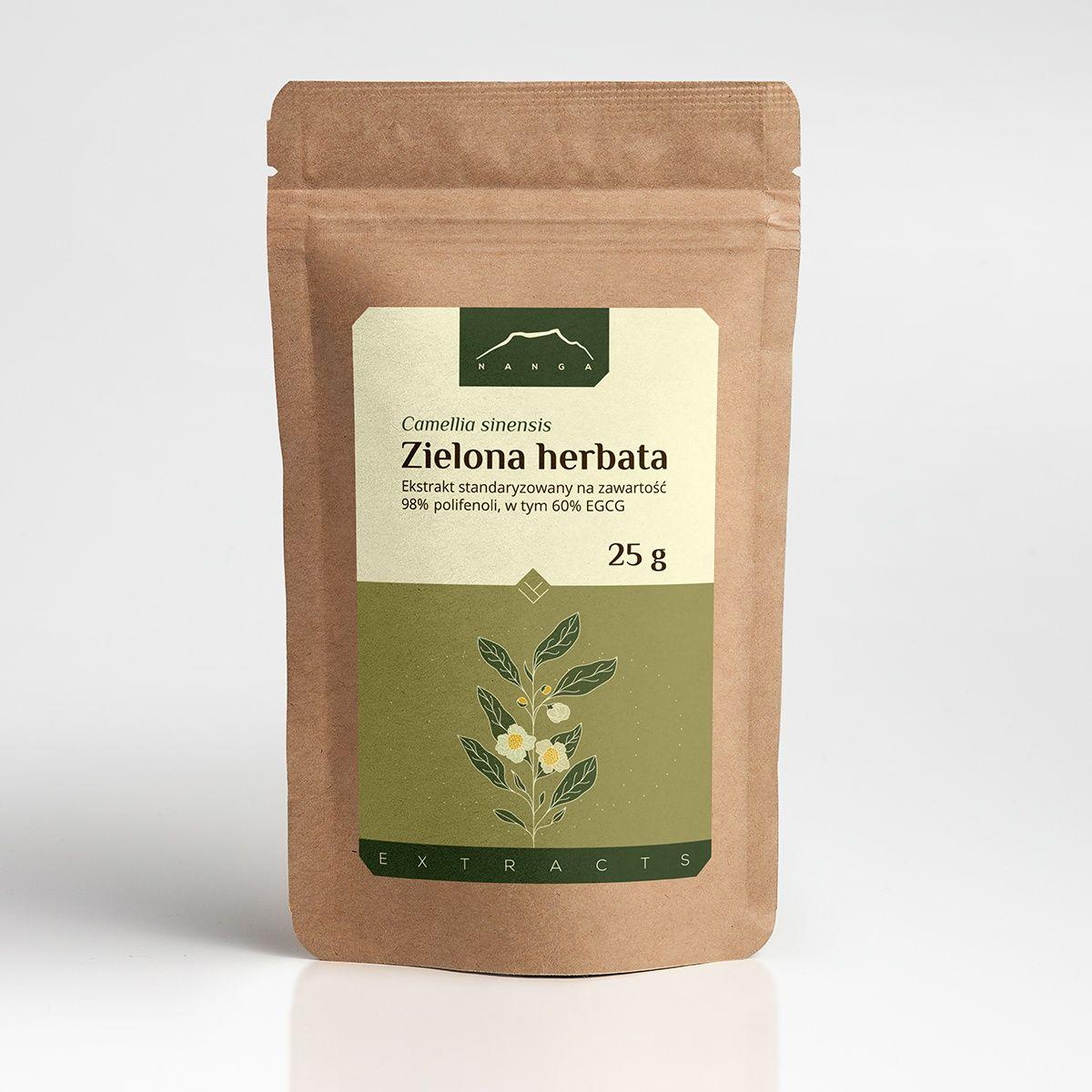 Zielona herbata ekstrakt 96%