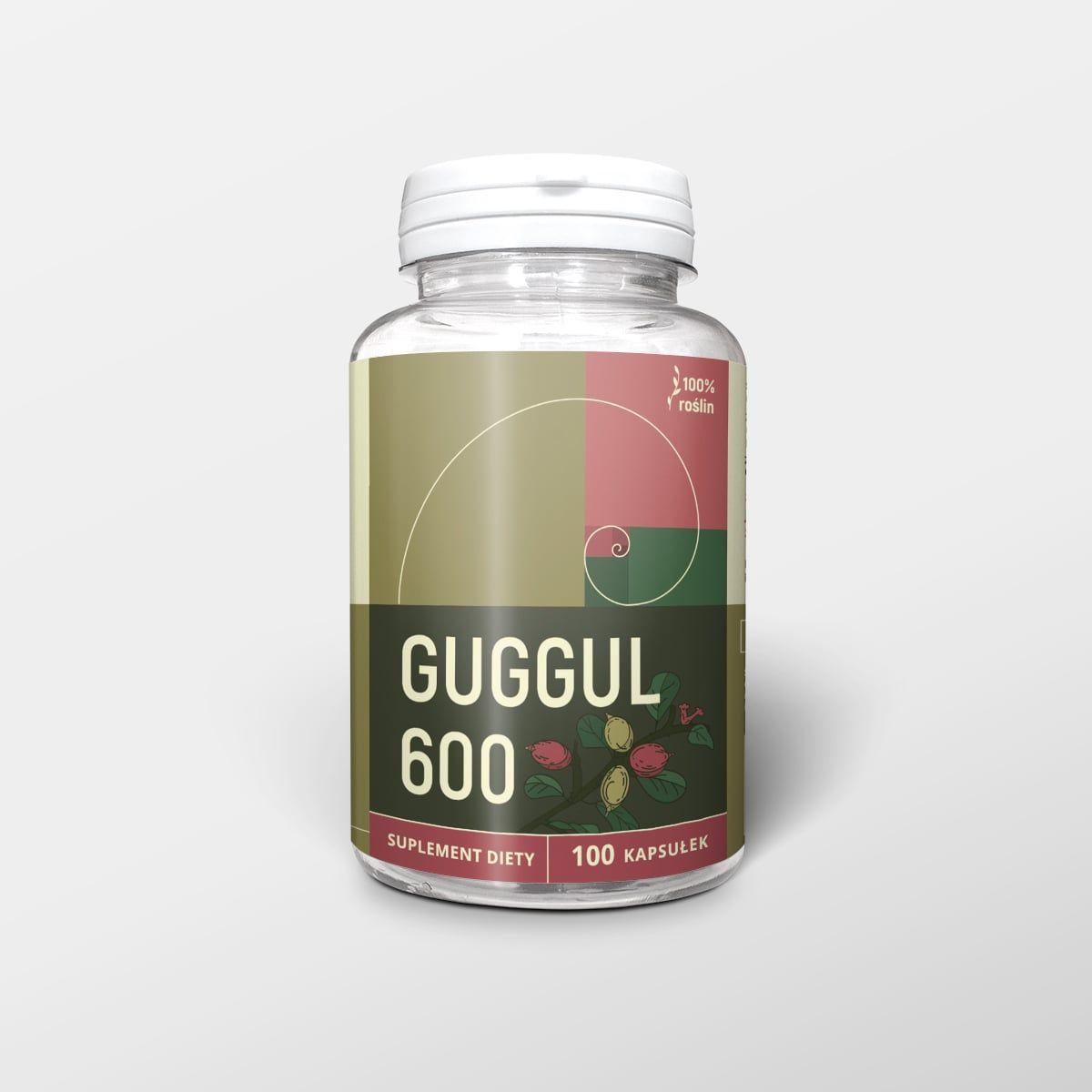 Guggul 100 kapsułek x 600 mg