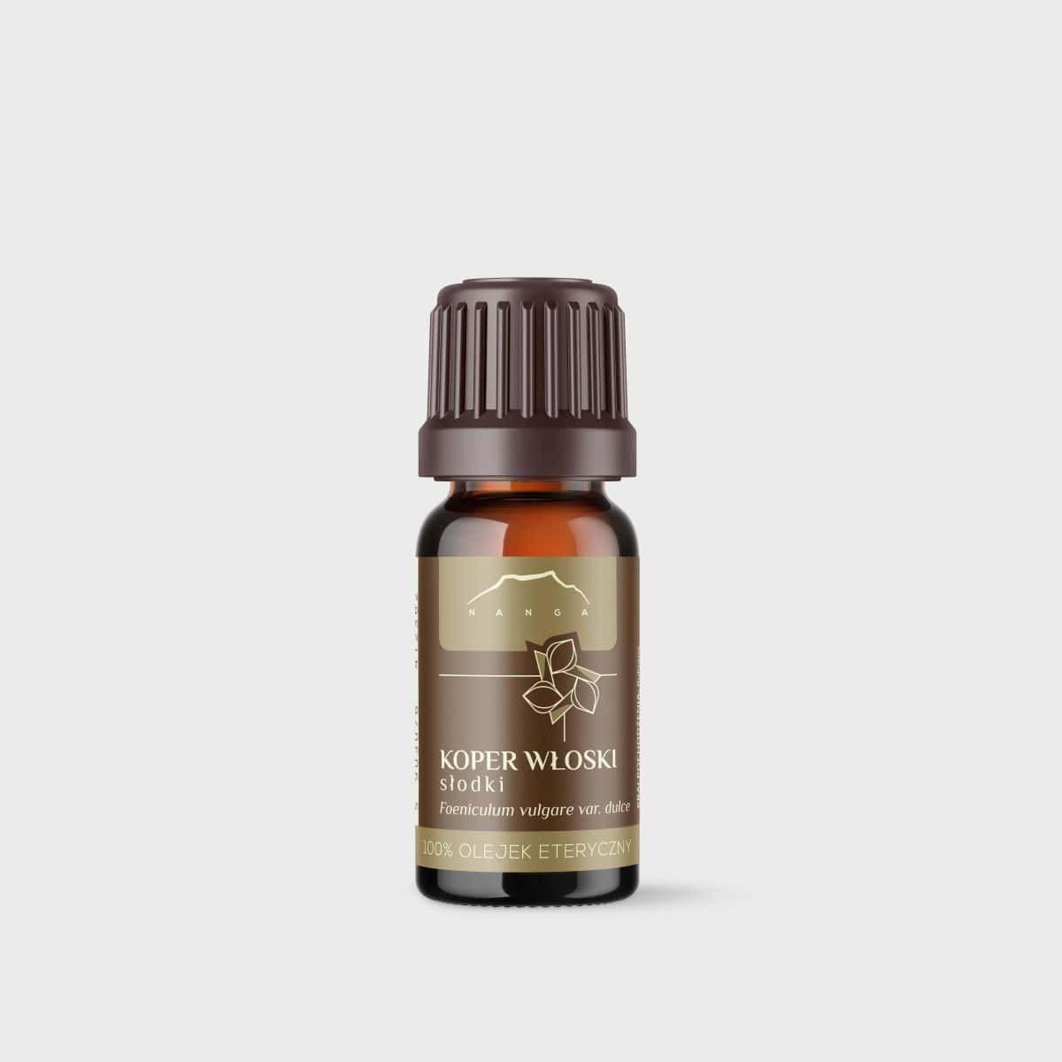 Olejek z kopru włoskiego (słodki) 100% eteryczny Nanga
