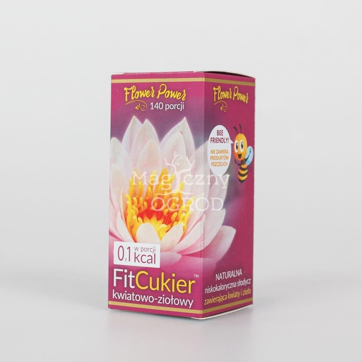 FitCukier kwiatowo-ziołowy