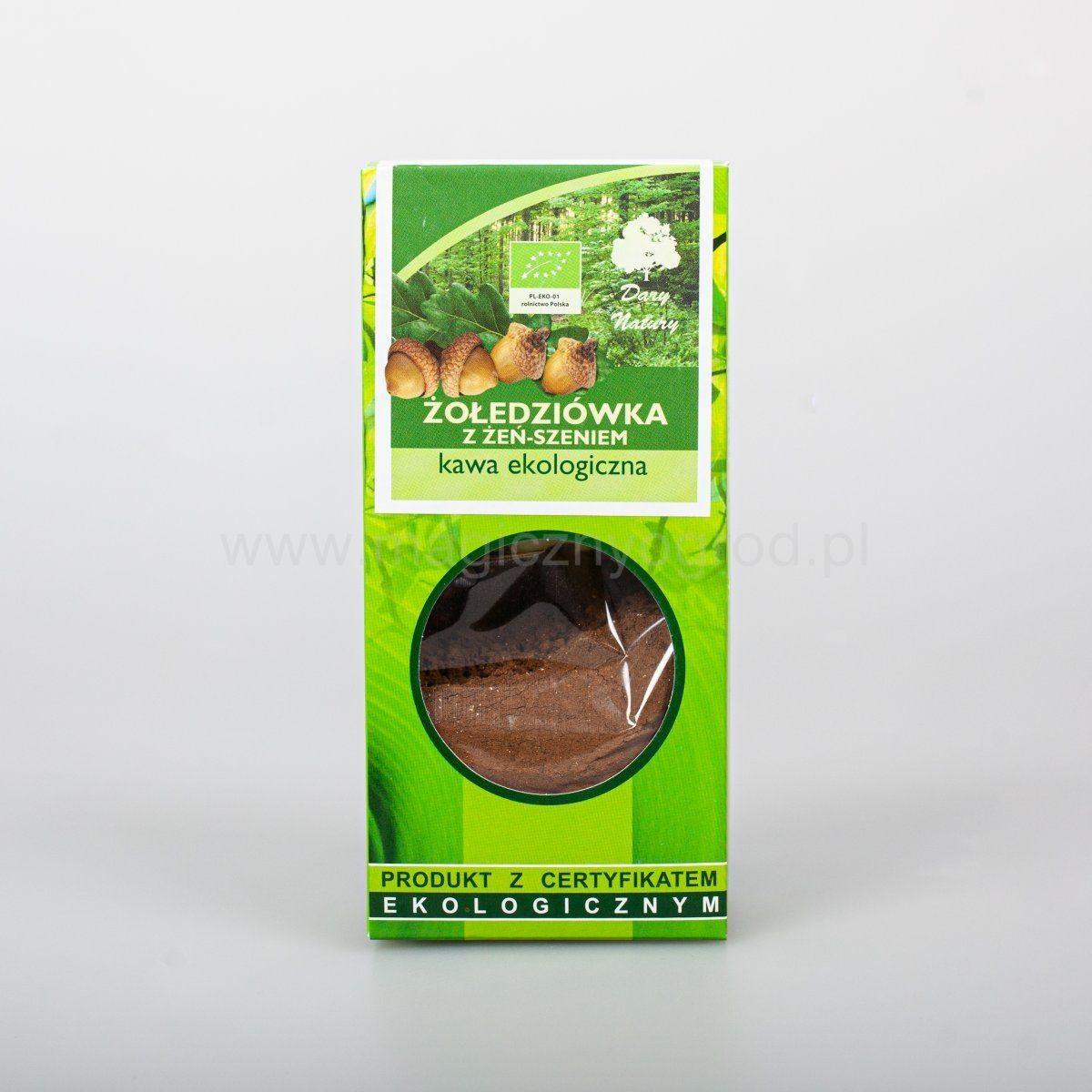 Kawa żołędziówka z żeń-szeniem 100g EKO