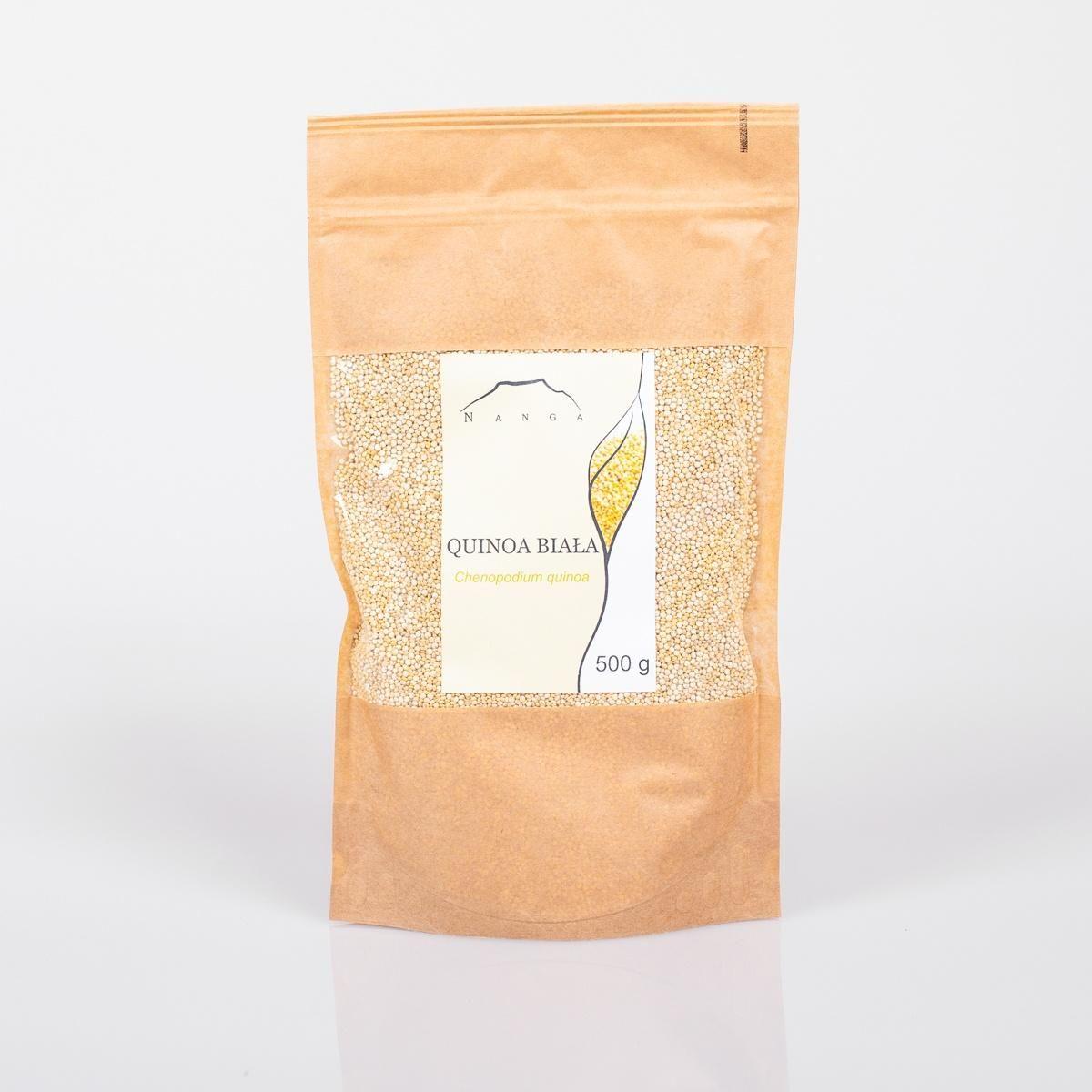 Quinoa biała (komosa ryżowa) Nanga