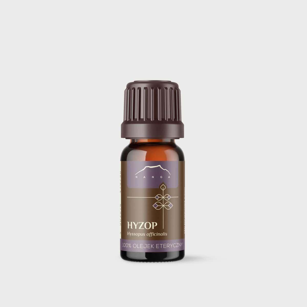 Olejek hyzopowy 100% eteryczny Nanga