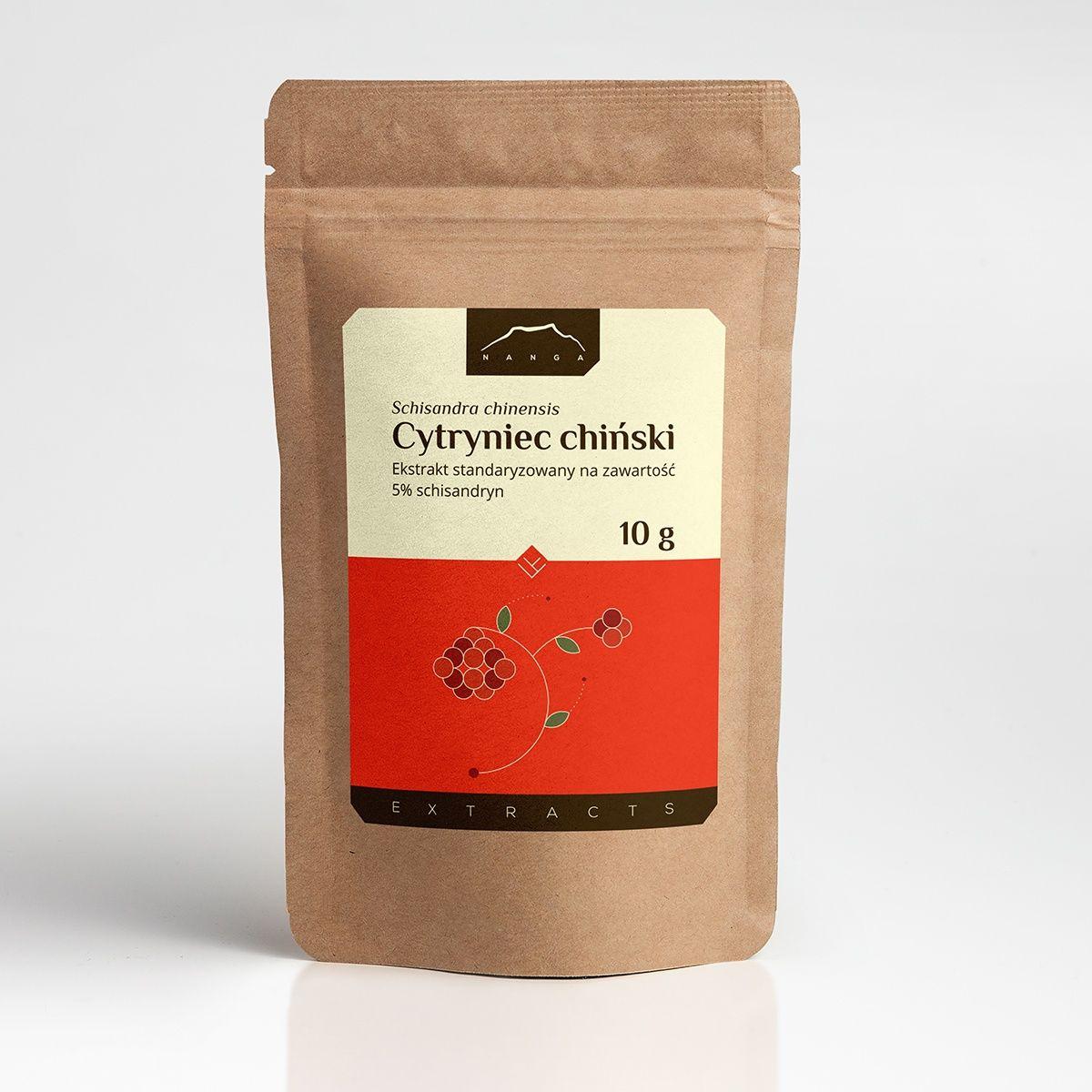 Cytryniec ekstrakt 5% schisandryny