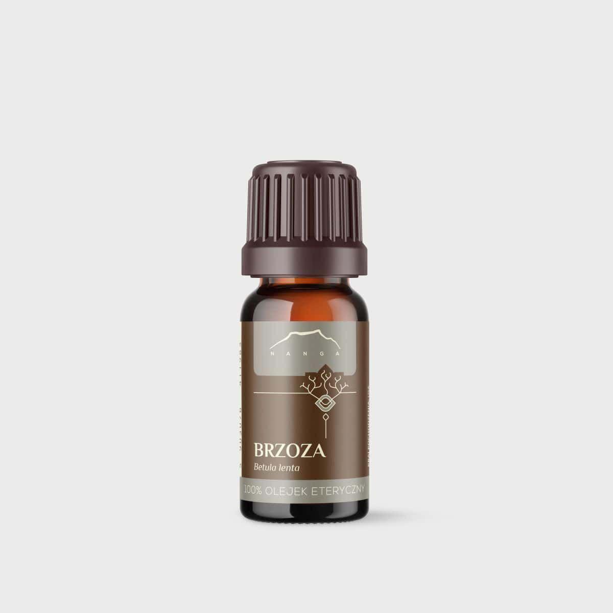 Olejek brzozowy (z kory brzozy cukrowej) 100% eteryczny Nanga