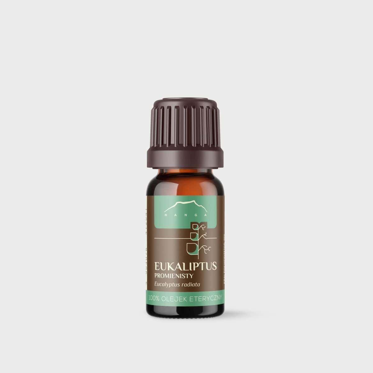 Olejek z eukaliptusa promienistego 100% eteryczny Nanga