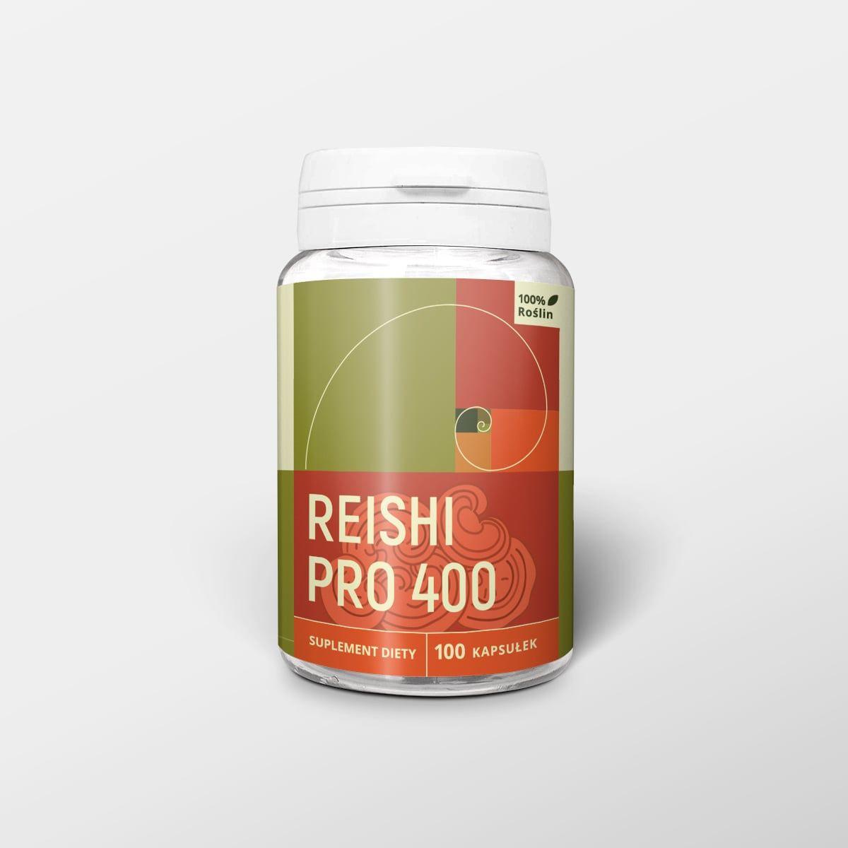 Reishi pro 100 kapsułek x 400 mg