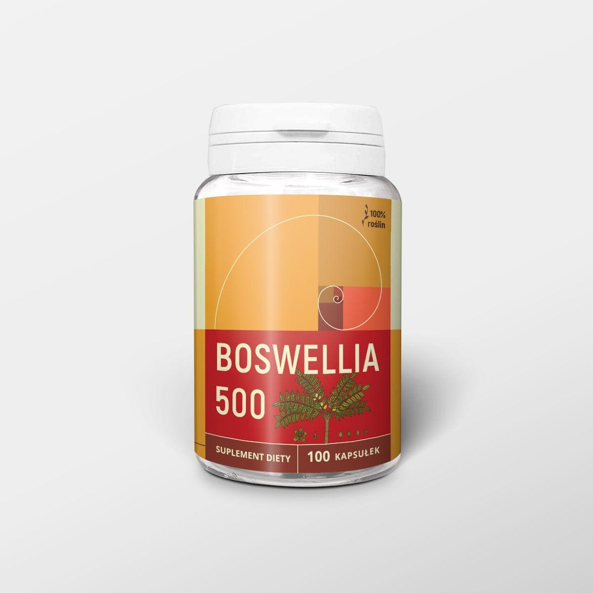 Boswellia 100 kapsułek x 500 mg