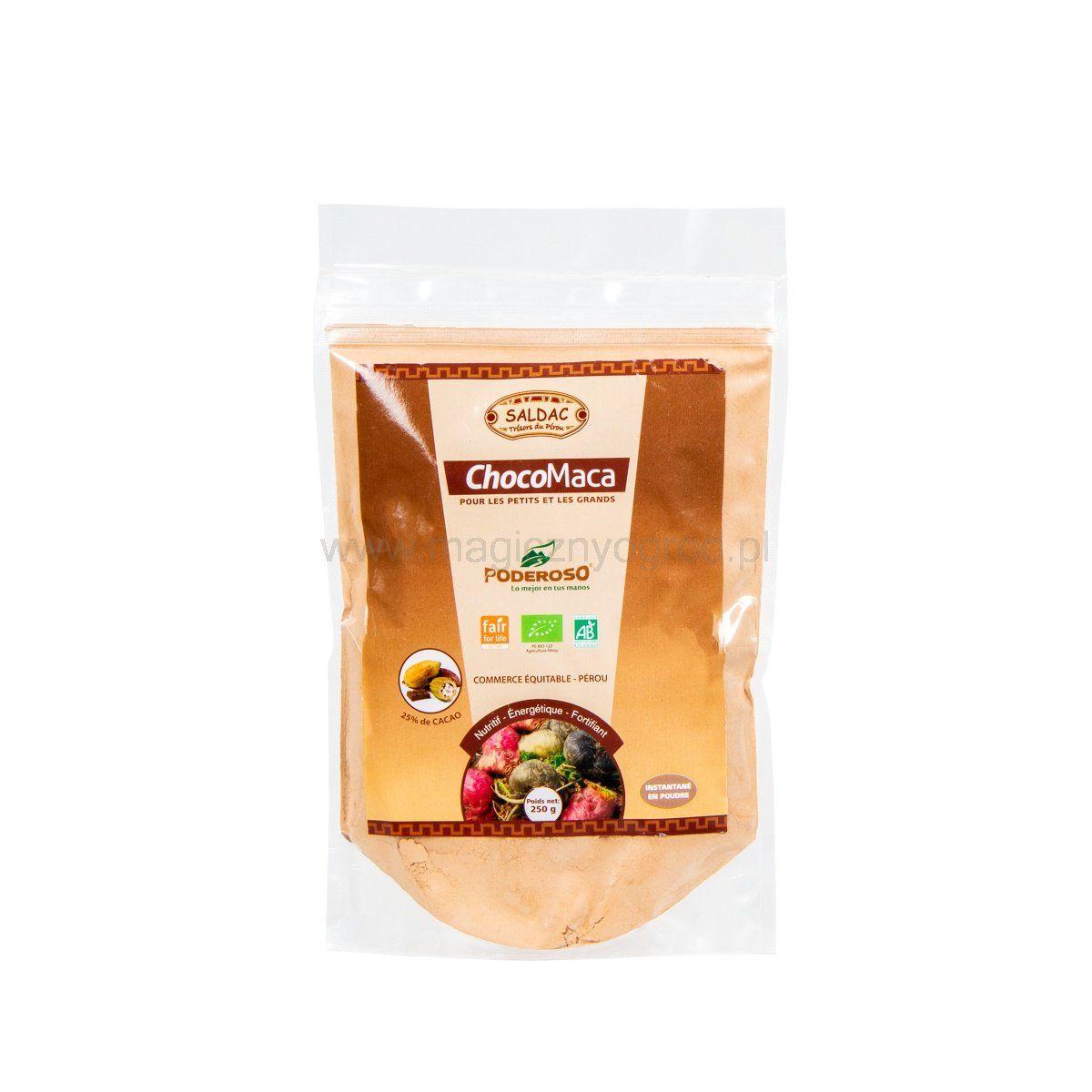 ChocoMaca Bio - Słodki napój śniadaniowy 250g