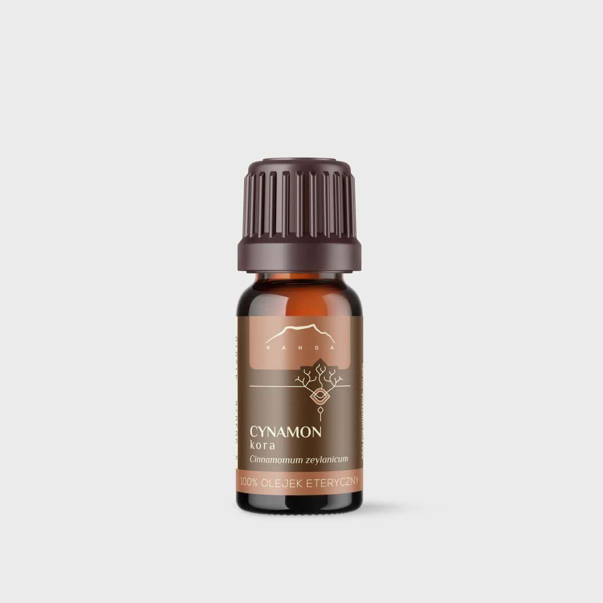 Olejek cynamonowy (z kory) 100% eteryczny Nanga 10 ml