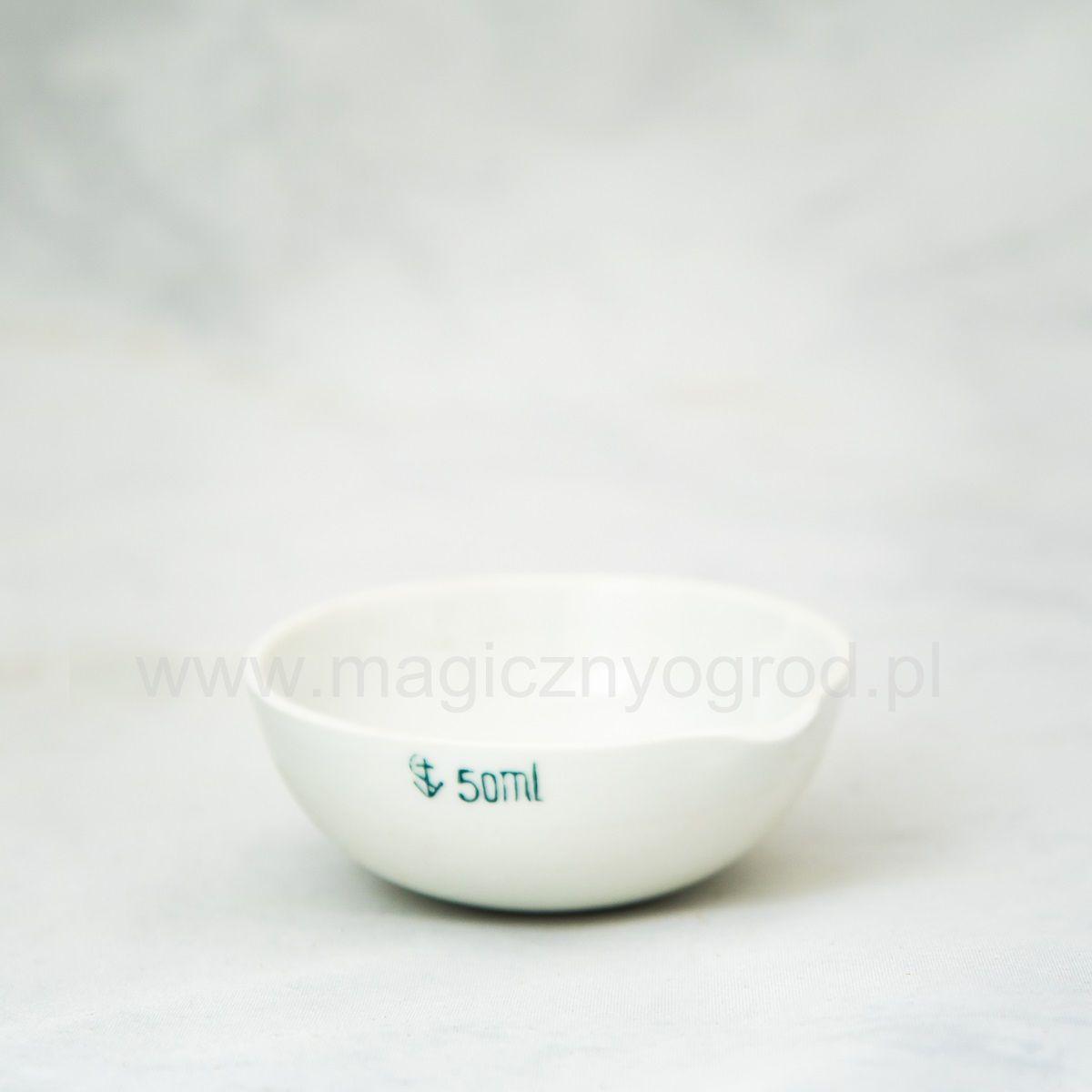 Parownica porcelanowa z wylewem