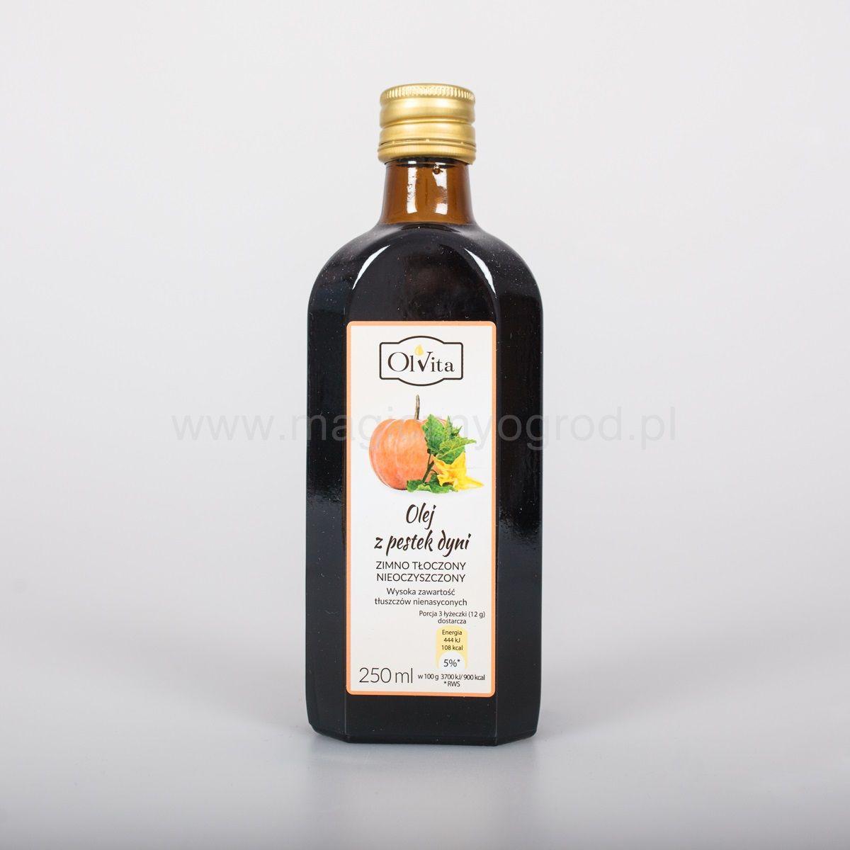 Olej z pestki dyni Olvita zimnotłoczony 250ml