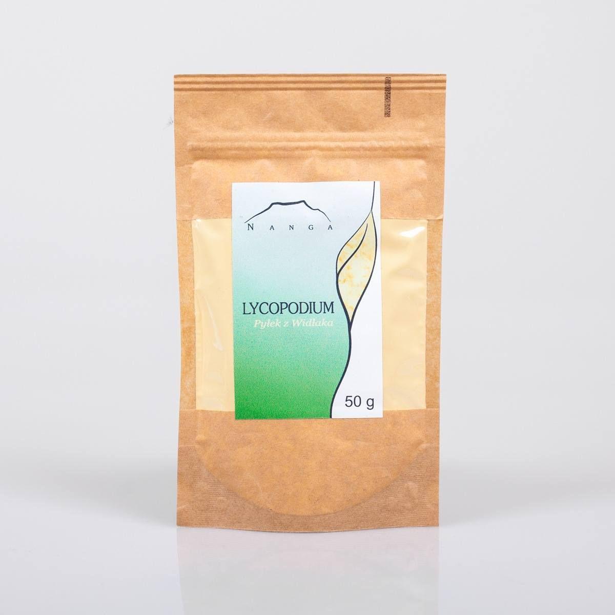 Lycopodium - pyłek z widłaka