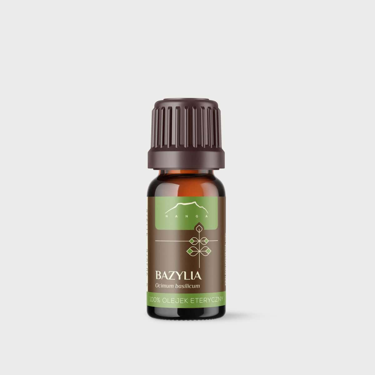 Olejek bazyliowy 100% eteryczny Nanga
