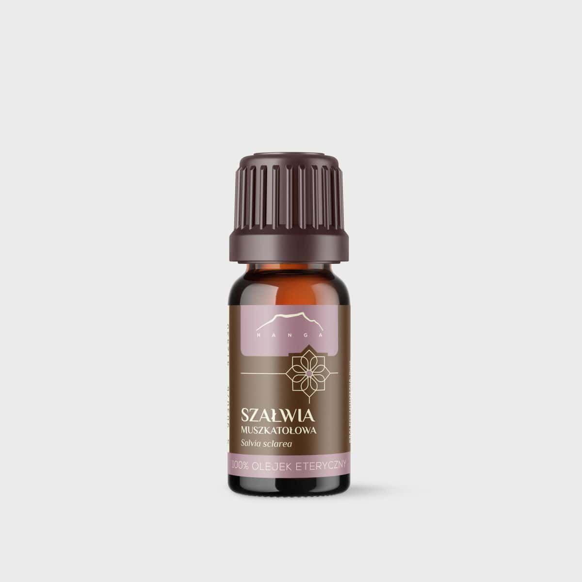 Olejek z szałwii muszkatołowej 100% eteryczny Nanga