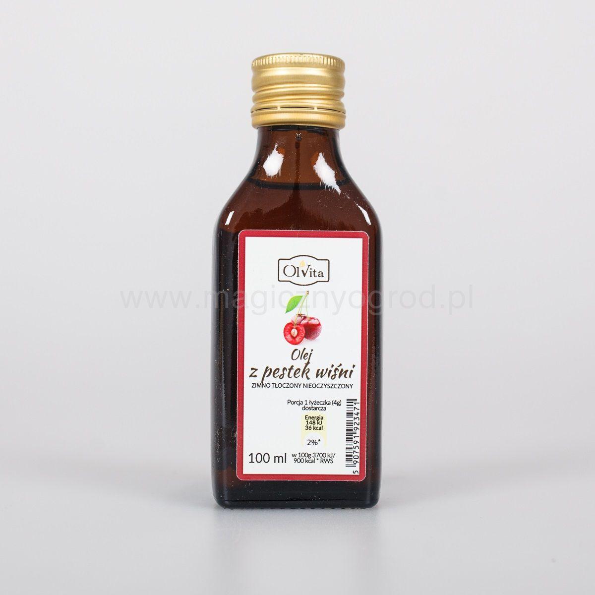 Olej z pestek wiśni Olvita 100ml