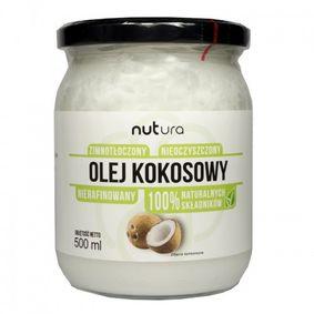 Olej kokosowy nierafinowany NUTURA 500ml