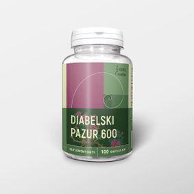 Diabelski pazur 100 kapsułek x 600 mg - czarci pazur