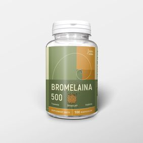 Bromelaina 100 kapsułek x 500 mg