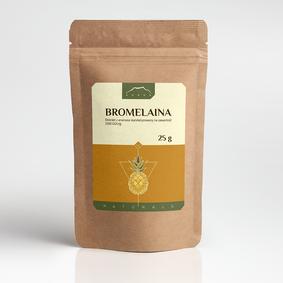 Bromelaina 25g ekstrakt z ananasa 2500 GDU/g