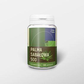 Palma sabałowa 100 kapsułek x 500 mg