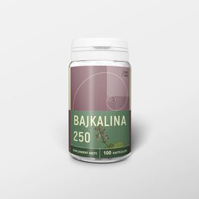 Bajkalina 100 kapsułek x 250 mg